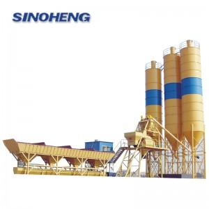 HZS40SE 40m3/h skip hoist concrete mixing plant