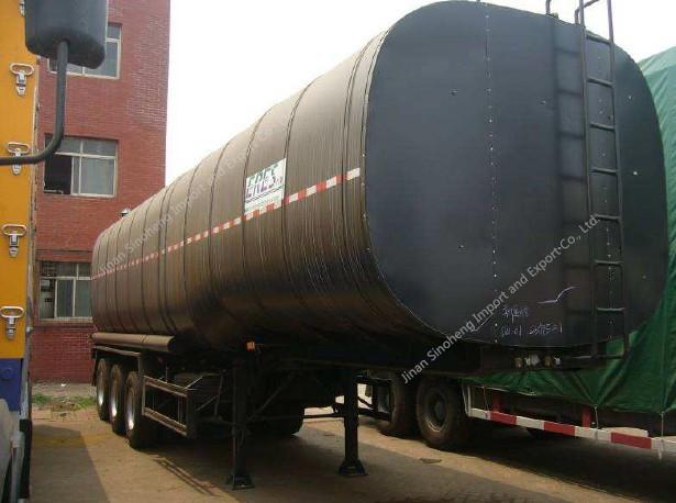 21.2cbm Liquid Argon Semi Trailer 3 Axles Trailer Truck