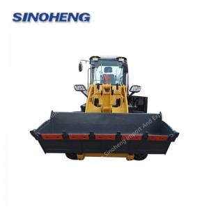 New condition construction machinery 2 ton mini wheel loader