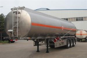 24M3 Liquid Oxygen Tank Container Semi Trailer