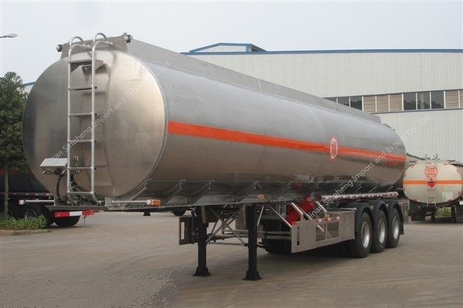 24M3 Liquid Oxygen Tank Container Semi Trailer