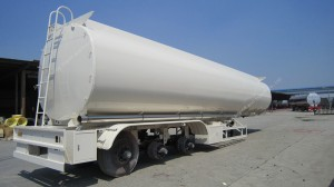 29600L Liquid CO2 Semi Trailer Tanker Transport Tank