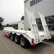 3 Axles Low-Bed Semi-Trailer 40 Ton