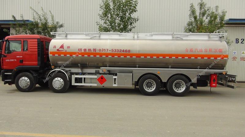 31000L Liquid Nitrogen Tanker Semi Trailer