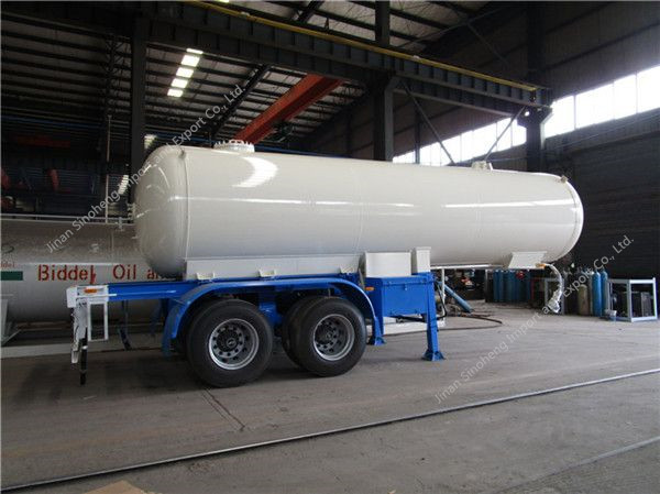 40.5m3 propane gas semi trailer