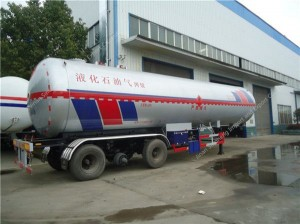 56000 Liters LPG Tank Semi Trailer