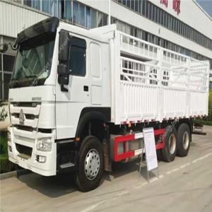 アルジェリア-2単位HOWO ZZ1257N4341カーゴトラック