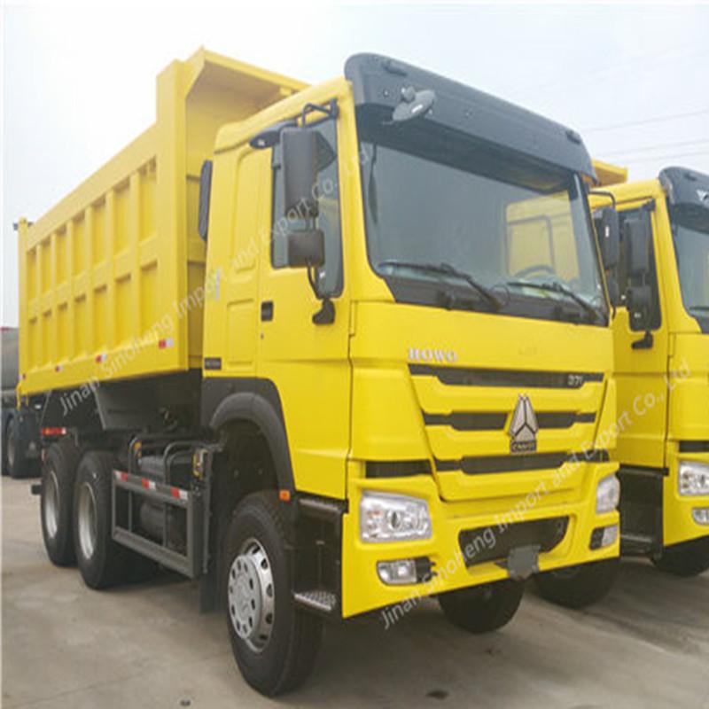 Argelia-5 unidades HOWO camiones volquete ZZ3257N3647