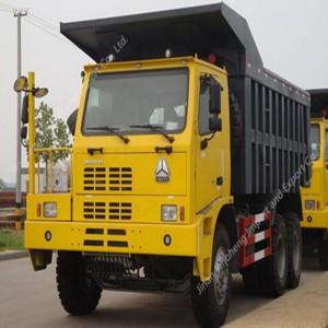 アルゼンチン-2単位HOWO ZZ5504N3640AJマイニングトラック
