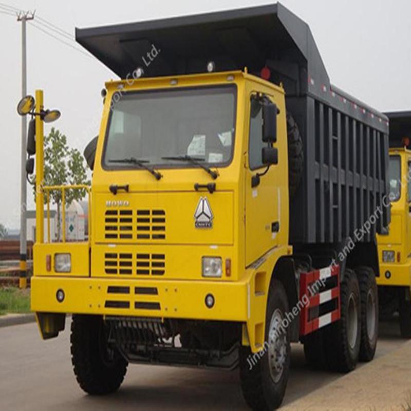 Argentina-2 Units HOWO ZZ5504N3640AJ Mining Truck