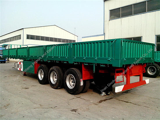 Container Transport Semi-trailer