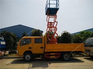 DCAF 14M haute altitude plate-forme de camion