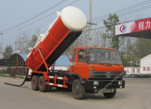 Dongfeng 6×4 sewage suction truck (16m3)