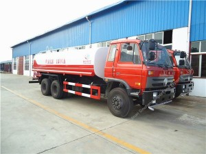 Dongfeng 6×4 water truck (20-22m3)