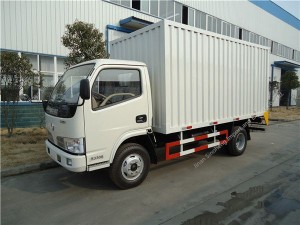 Dongfeng DCAF 5T van camion cargo