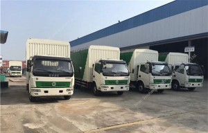Dongfeng DCAF 6-7T van camion