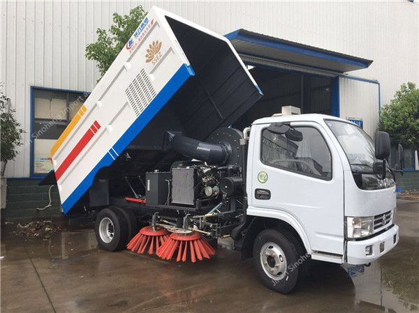 Dongfeng DFAC road sweeper truck