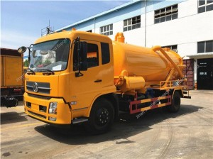 Dongfeng sewage suction truck (8-9m3)