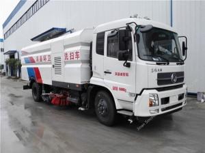 Dongfeng Tianjin washing sweeper truck