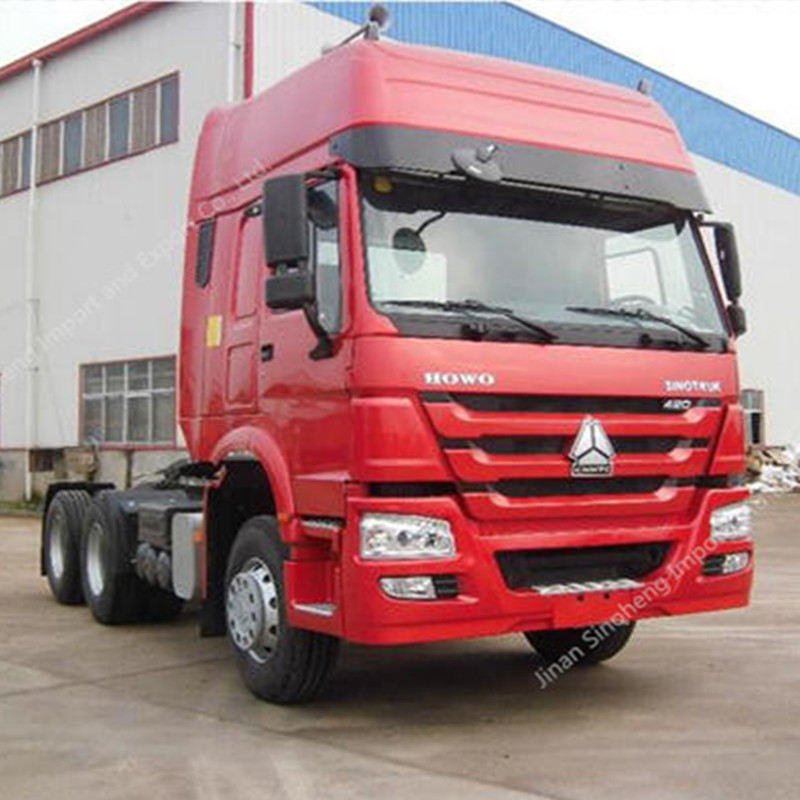 Etiopía-2 Unidades HOWO camiones tractores ZZ4257S3241W