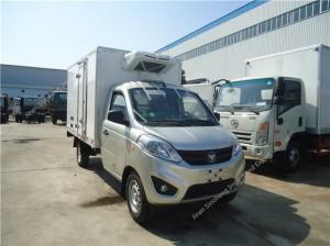 Foton mini 1-2 tons refrigerator truck