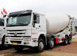 HOWO 12CBM Concrete Mixer Truck