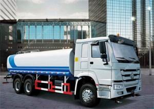 HOWO 15m3 Réservoir d'eau Camion