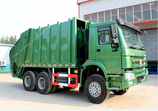 HOWO 16m3 Compressor Garbage Truck