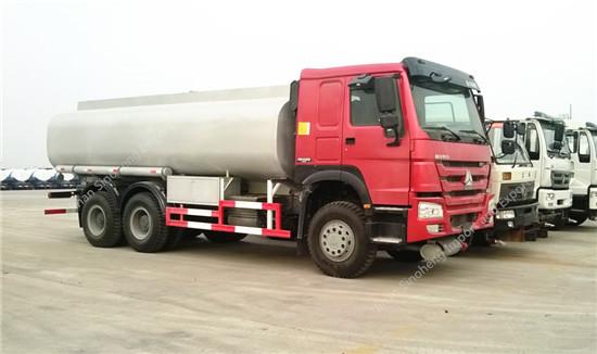 HOWO 20m3 Fuel Tank Truck