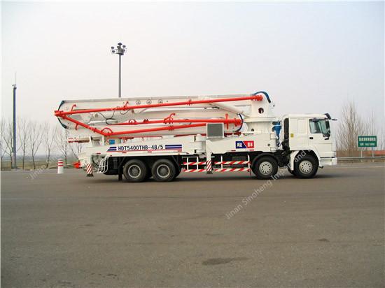 HOWO 24M Concrete Pump Truck