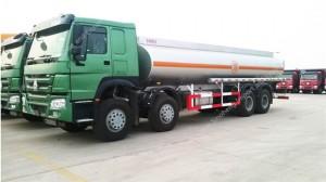 HOWO 25m3 Fuel Tank Truck