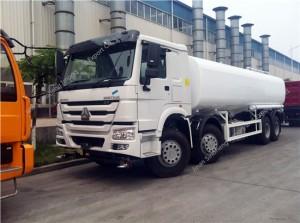 HOWO 25m3 Réservoir d'eau Camion
