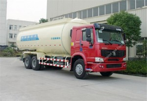 HOWO 30m3 Bulk Powder Tank Truck