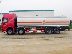 HOWO 30m3 carburant / huile camion-citerne