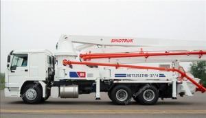 HOWO 37M Concrete Pump Truck