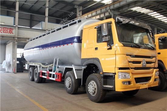 HOWO 40m3 Cement Transport Tank Truck