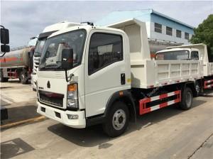 HOWO 4×2 mini dump truck (4-5T)