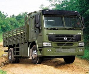 HOWO 4X4 All Wheel Drive Cargo Truck