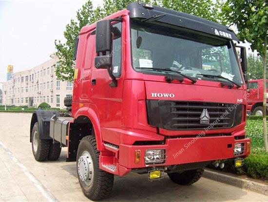 HOWO 4X4 All Wheel drive Tractor Truck