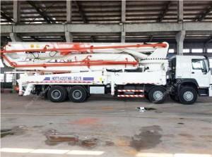 HOWO 52M Concrete Pump Truck