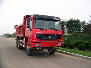HOWO 6X6 All Wheel drive Dump Truck