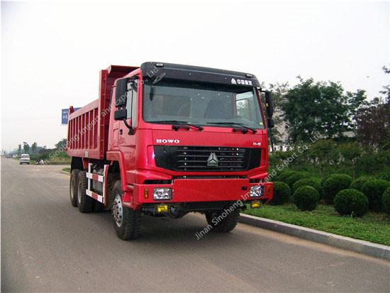 HOWO 6X6 All Wheel drive Dump Truck