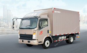 HOWO 8 Ton Light Van Truck