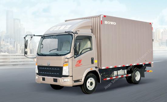 HOWO 8 Ton Light Van Truck