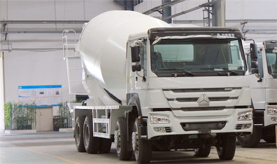 HOWO 8M3-12M3 Cement Mixer Truck