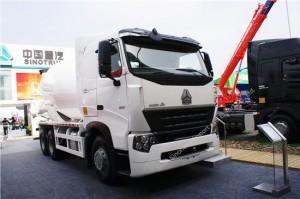 HOWO A7 Cement Mixer Truck