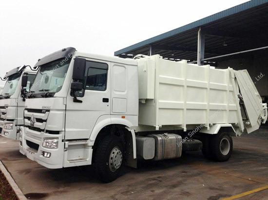 HOWO Compressor Garbage Truck