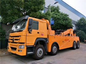 HOWO Heavy Duty Truck Wrecker de remorquage