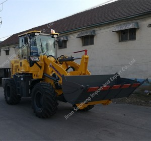 small 4 wheel drive tractor with front loader 2 ton wheel loader