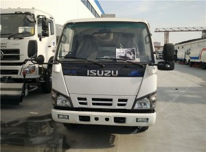 ISUZU 4×2 road sweeper truck
